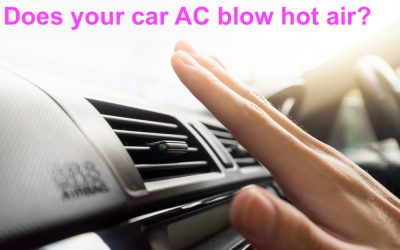 Time to recharge your car's air conditioning?