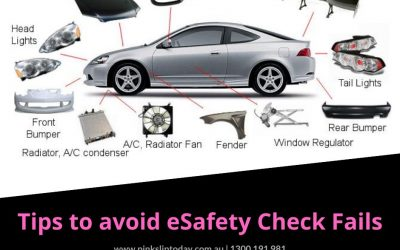 Checks to avoid car Pink Slip eSafety Check fails